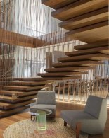 Perfect Living Room Staircase Design Ideas 29