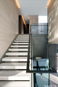 Perfect Living Room Staircase Design Ideas 38