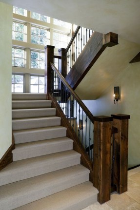 Perfect Living Room Staircase Design Ideas 45
