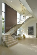 Perfect Living Room Staircase Design Ideas 47