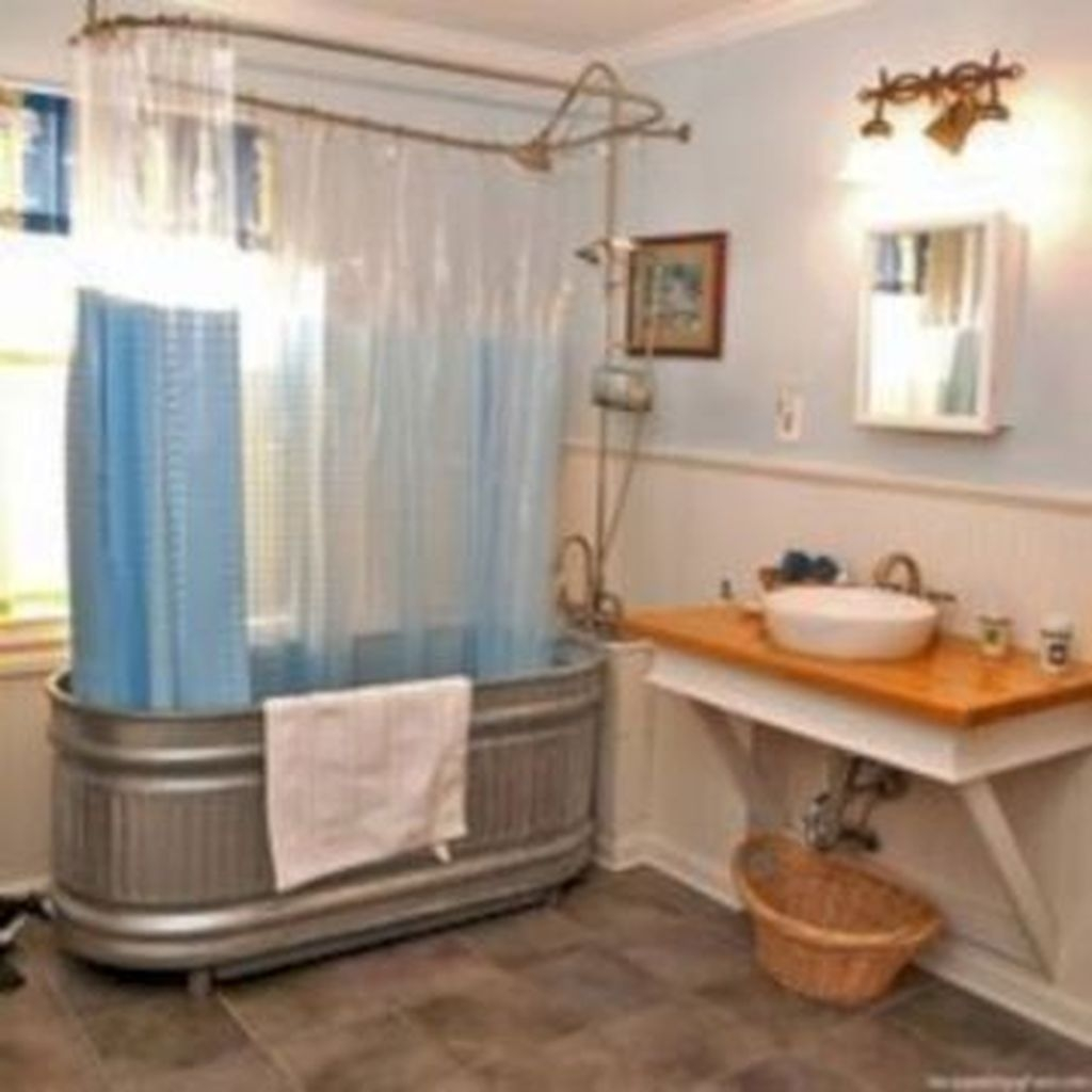 Perfect Tiny House Bathroom Design Ideas 43