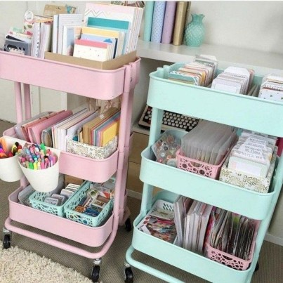 Unique Dorm Room Storage Organization Ideas On A Budget 39