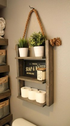 Wonderful Farmhouse Bathroom Decor Ideas 43
