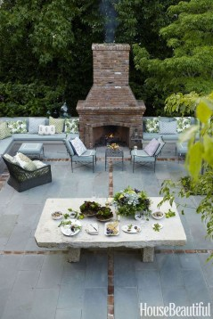 Wonderful Outdoor Fireplace Design Ideas 08