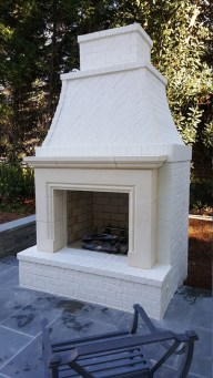 Wonderful Outdoor Fireplace Design Ideas 46