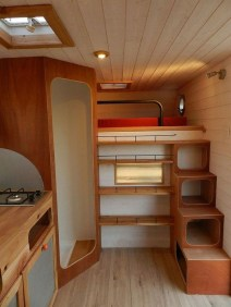 Wonderful Rv Camper Van Interior Decorating Ideas 17