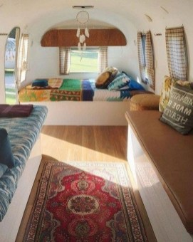 Wonderful Rv Camper Van Interior Decorating Ideas 20
