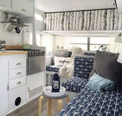 Wonderful Rv Camper Van Interior Decorating Ideas 33