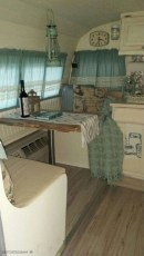 Wonderful Rv Camper Van Interior Decorating Ideas 35