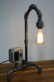 Cool Diy Industrial Pipe Lamps Ideas 14