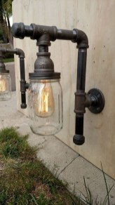Cool Diy Industrial Pipe Lamps Ideas 30