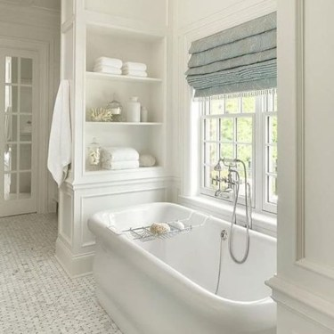 Elegant Farmhouse Bathroom Wall Color Ideas 09