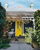 Flawless Exterior House Paint Ideas With Yellow Colors 03