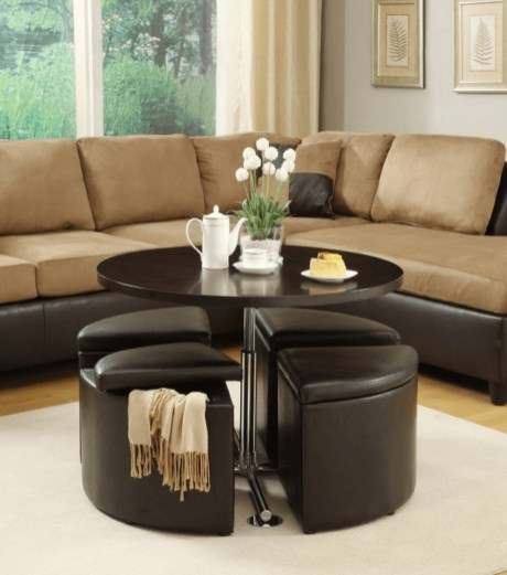 Marvelous Glass Coffee Tables Ideas For Living Room 09