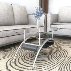 Marvelous Glass Coffee Tables Ideas For Living Room 10