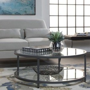 Marvelous Glass Coffee Tables Ideas For Living Room 19