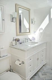 Modern Attic Bathroom Design Ideas 40