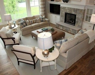Relaxing Large Living Room Decorating Ideas 10