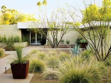 Stunning Front Yard Courtyard Landscaping Ideas 34