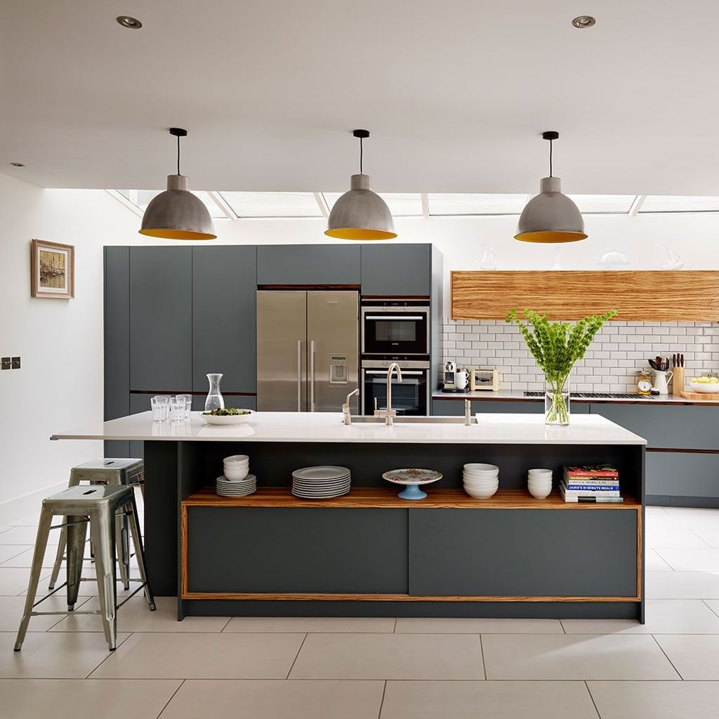 Stunning Small Kitchen Design Ideas For Home 27