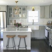Stunning Small Kitchen Design Ideas For Home 37