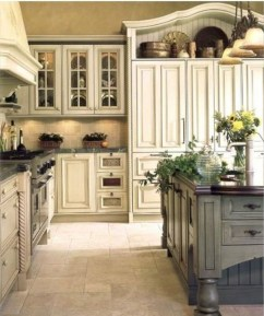 Stylish French Country Kitchen Decor Ideas 13