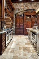 Stylish French Country Kitchen Decor Ideas 30
