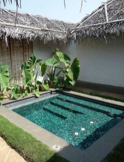 Amazing Natural Small Pools Design Ideas For Backyard 01