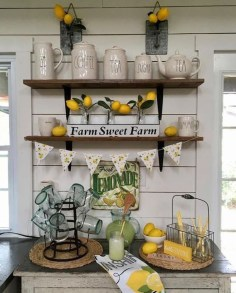 Attractive Kitchen Decorating Ideas With Farmhouse Style 02