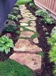 Brilliant Rock Garden Landscaping Ideas For Front Yard 03