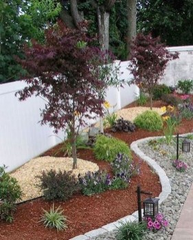 Brilliant Rock Garden Landscaping Ideas For Front Yard 08