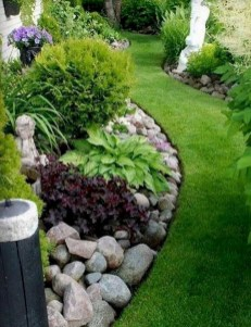 Brilliant Rock Garden Landscaping Ideas For Front Yard 31