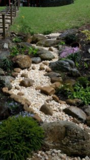 Brilliant Rock Garden Landscaping Ideas For Front Yard 49
