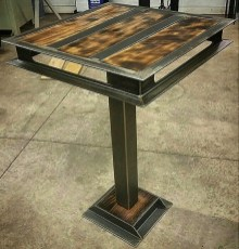 Cool Industrial Table Design Ideas 18