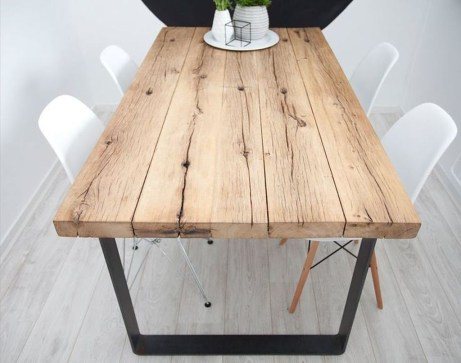 Cool Industrial Table Design Ideas 23