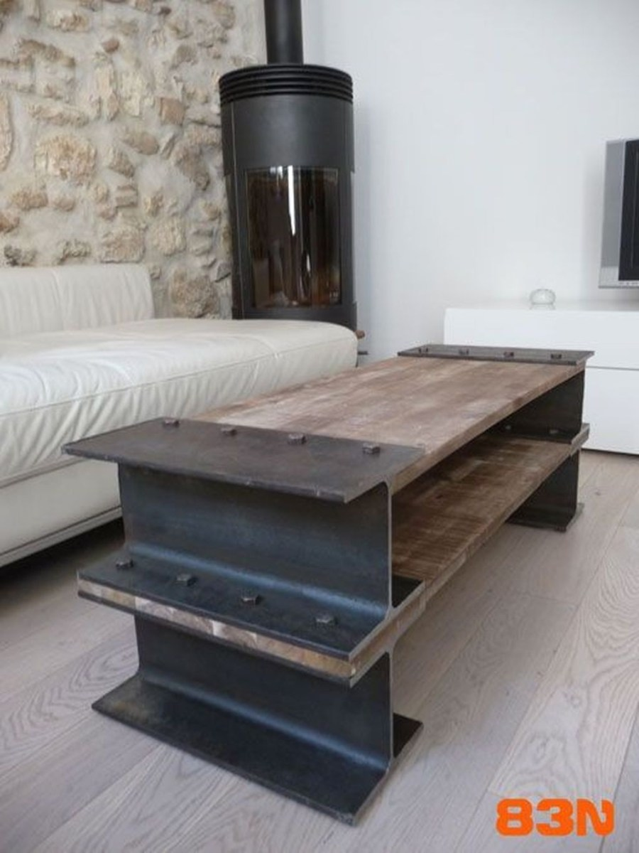 Cool Industrial Table Design Ideas 28