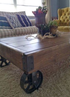 Cool Industrial Table Design Ideas 37