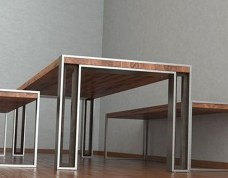 Cool Industrial Table Design Ideas 49