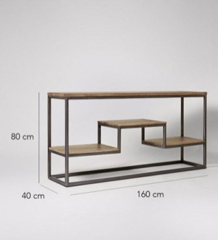 Cool Industrial Table Design Ideas 54