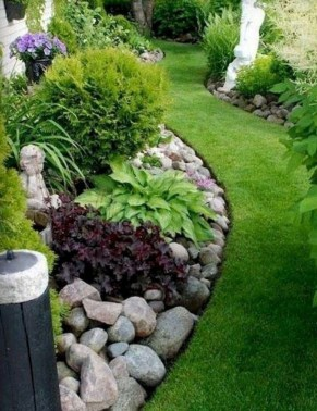 Fantastic Front Yard Rock Garden Ideas 25