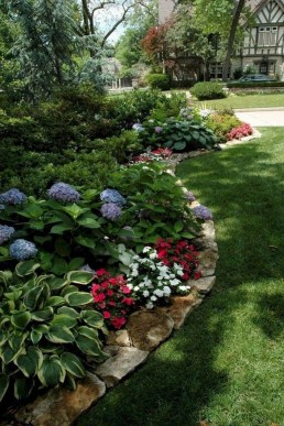 Fantastic Front Yard Rock Garden Ideas 50