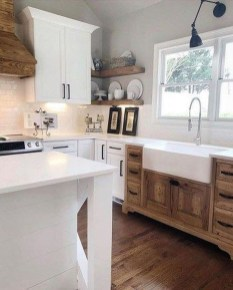 Stunning Country Farmhouse Design Ideas For Kitchen 12