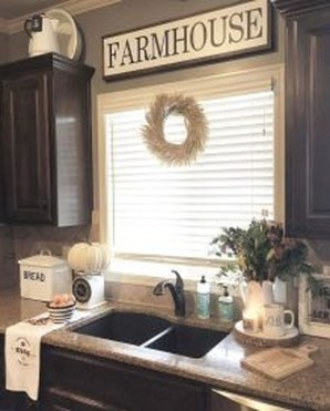 Stunning Country Farmhouse Design Ideas For Kitchen 15