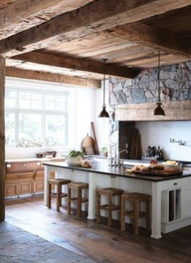 Stunning Country Farmhouse Design Ideas For Kitchen 18