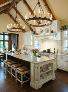 Stunning Country Farmhouse Design Ideas For Kitchen 22