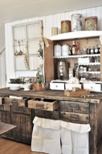 Stunning Country Farmhouse Design Ideas For Kitchen 23