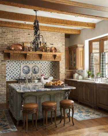 Stunning Country Farmhouse Design Ideas For Kitchen 48