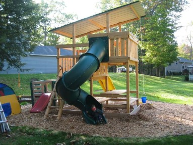 Awesome Frontyard Garden Design Ideas For Kids Playground Playground 10
