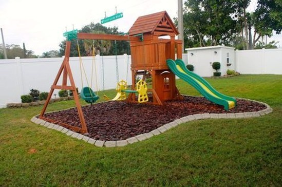 Awesome Frontyard Garden Design Ideas For Kids Playground Playground 37