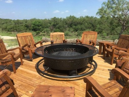 Creative Build Round Firepit Area Ideas For Summer Nights 01